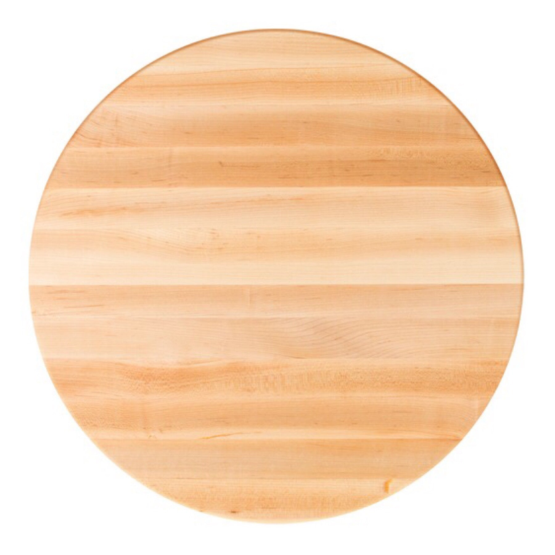 John Boos Round RTM Maple Butcher Block Table Top