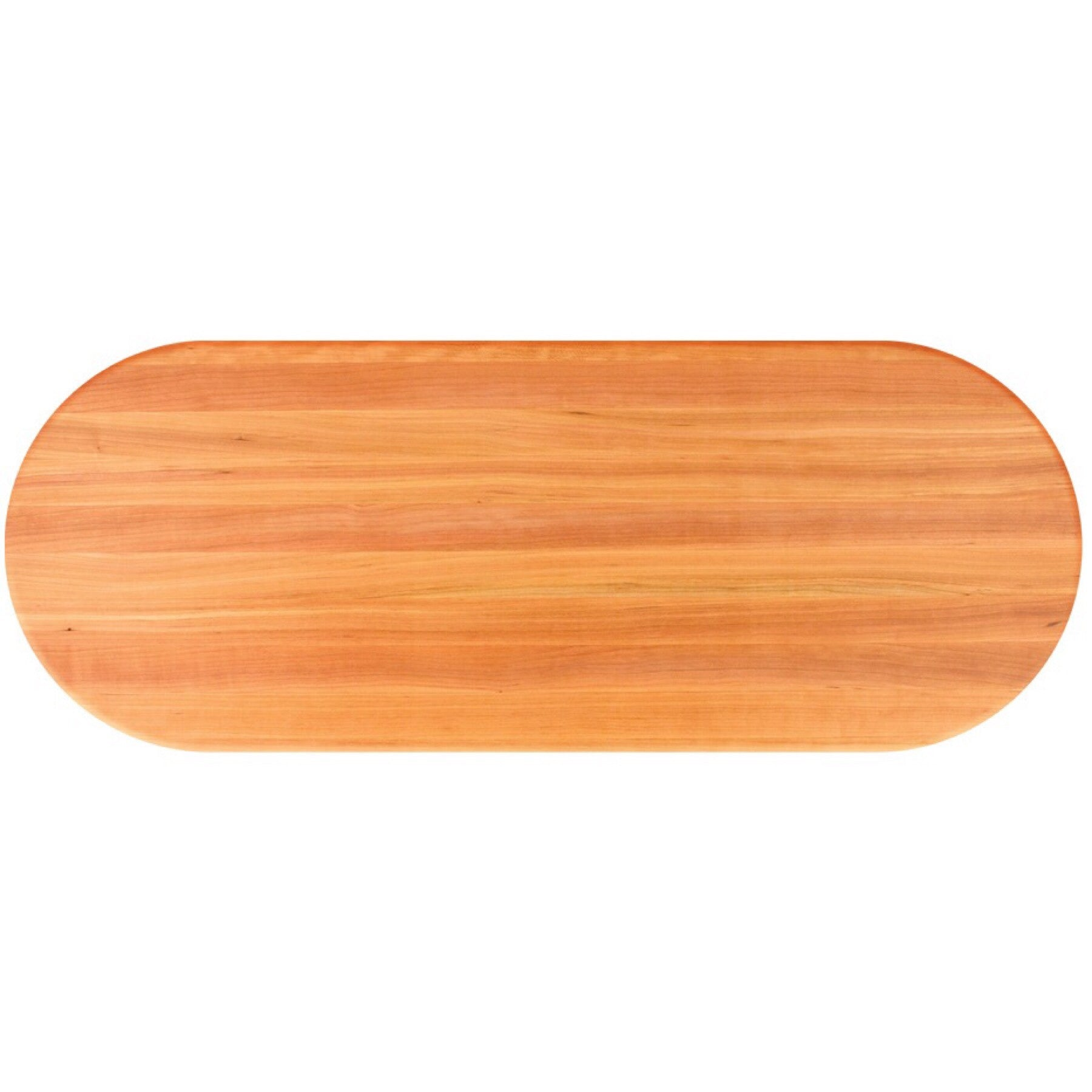 John Boos Oval RTC Cherry Butcher Block Table Top