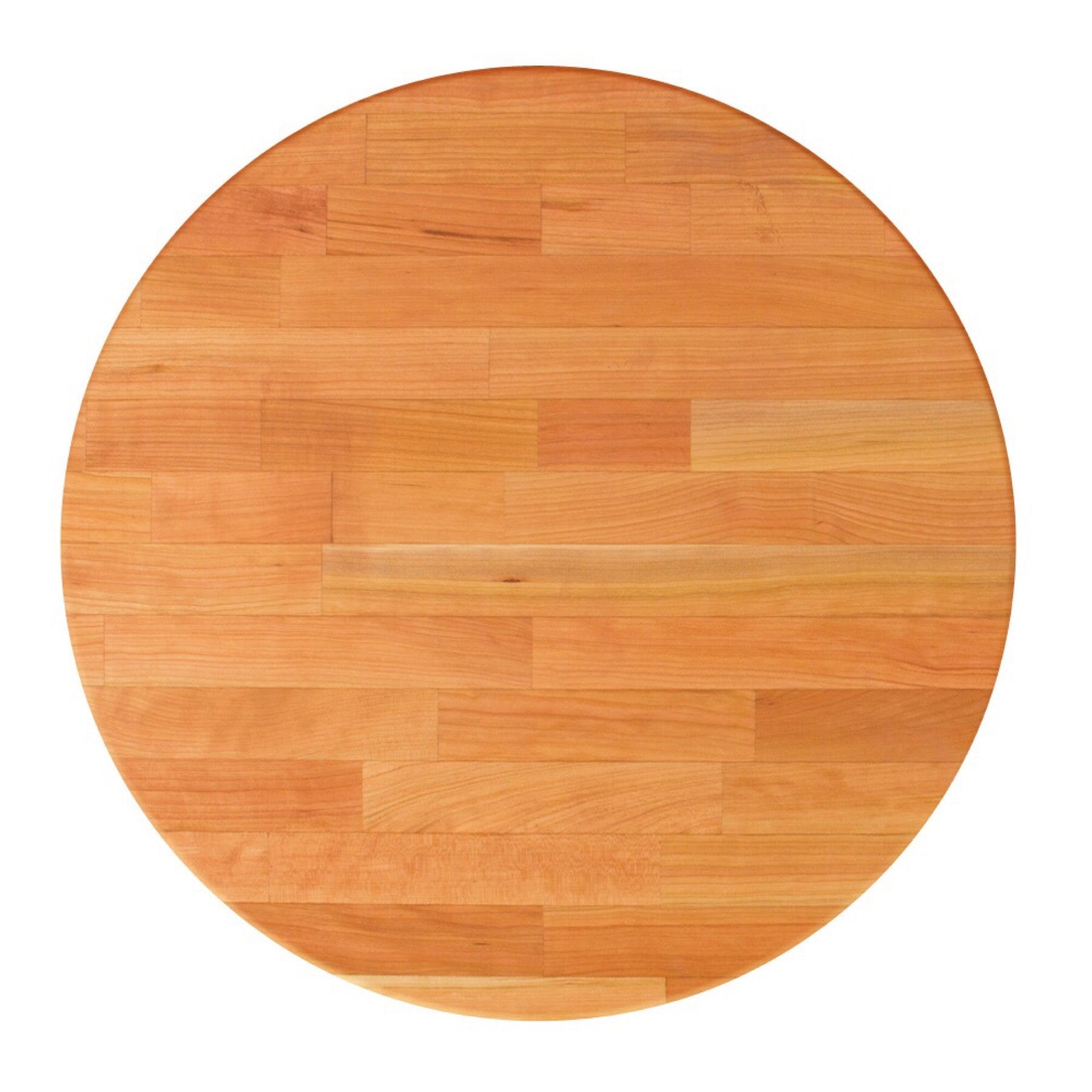 John Boos Round RTM Blended Cherry Butcher Block Table Top