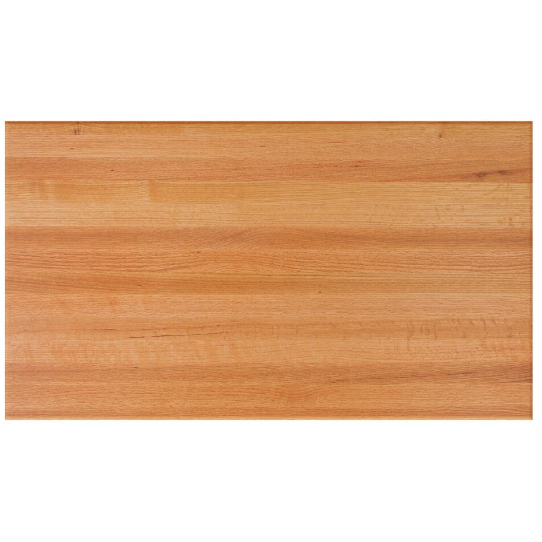 John Boos Rectangular RTO Red Oak Butcher Block Table Top - Stainable