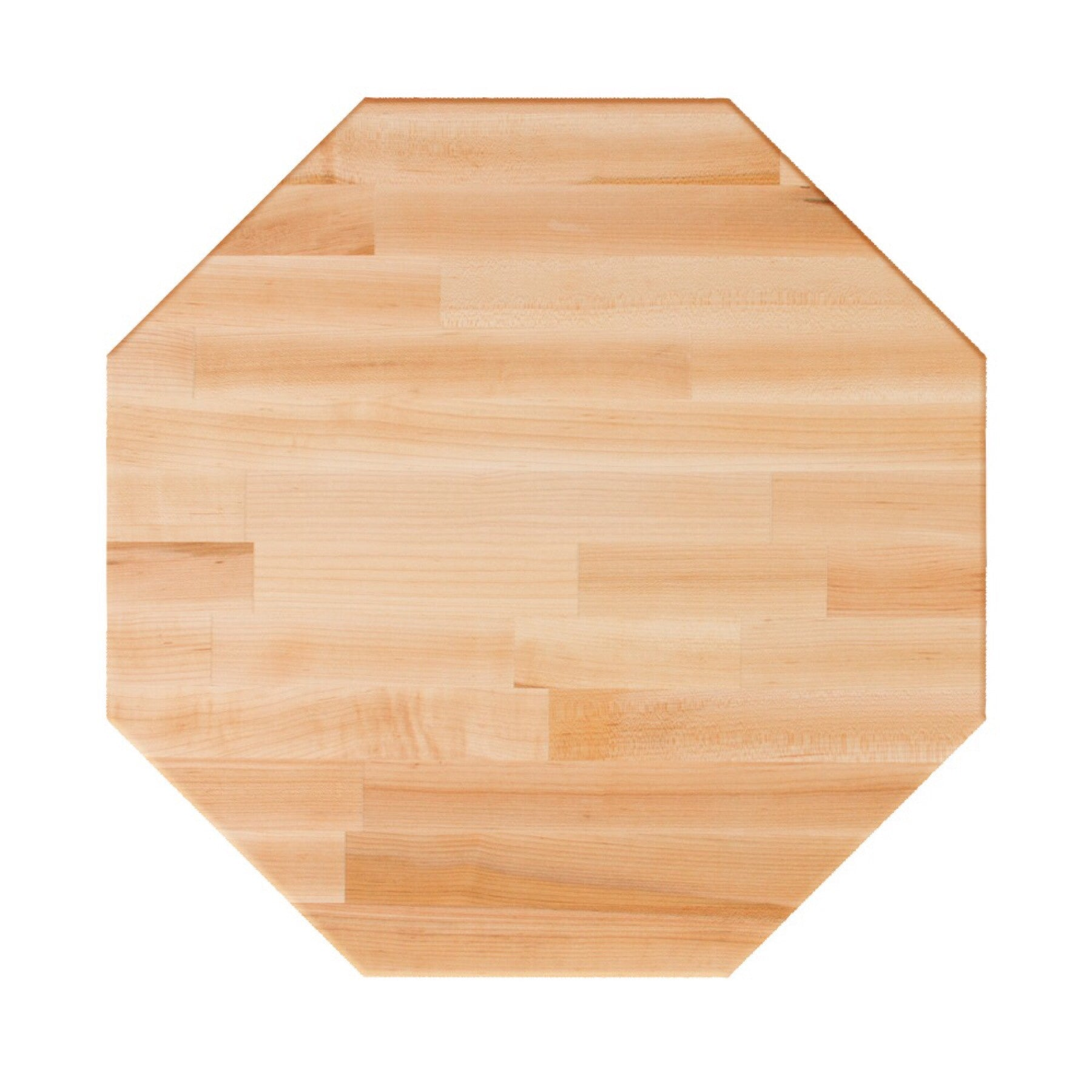 John Boos Octagonal RTM Blended Maple Butcher Block Table Top