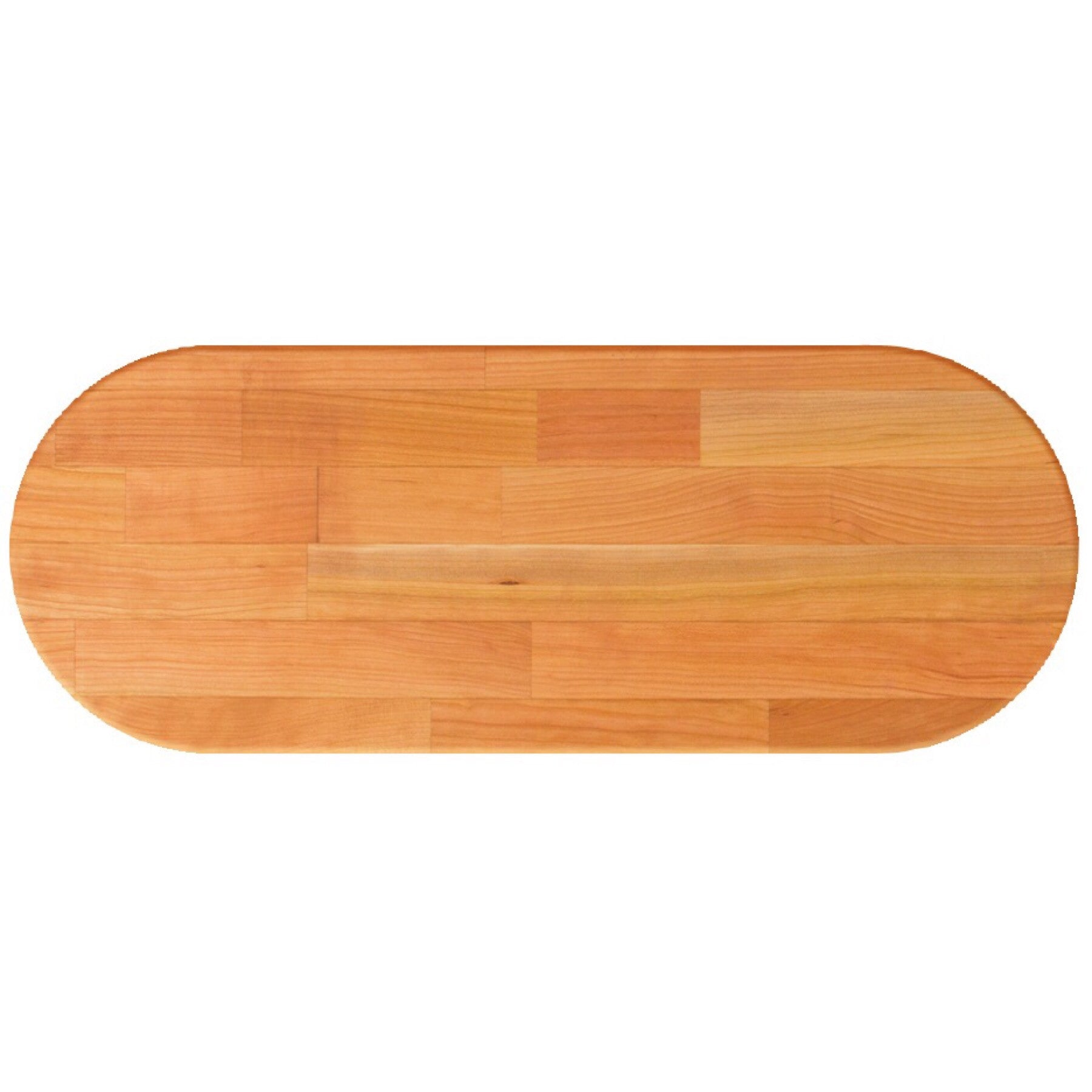 John Boos Oval RTC Blended Cherry Butcher Block Table Top