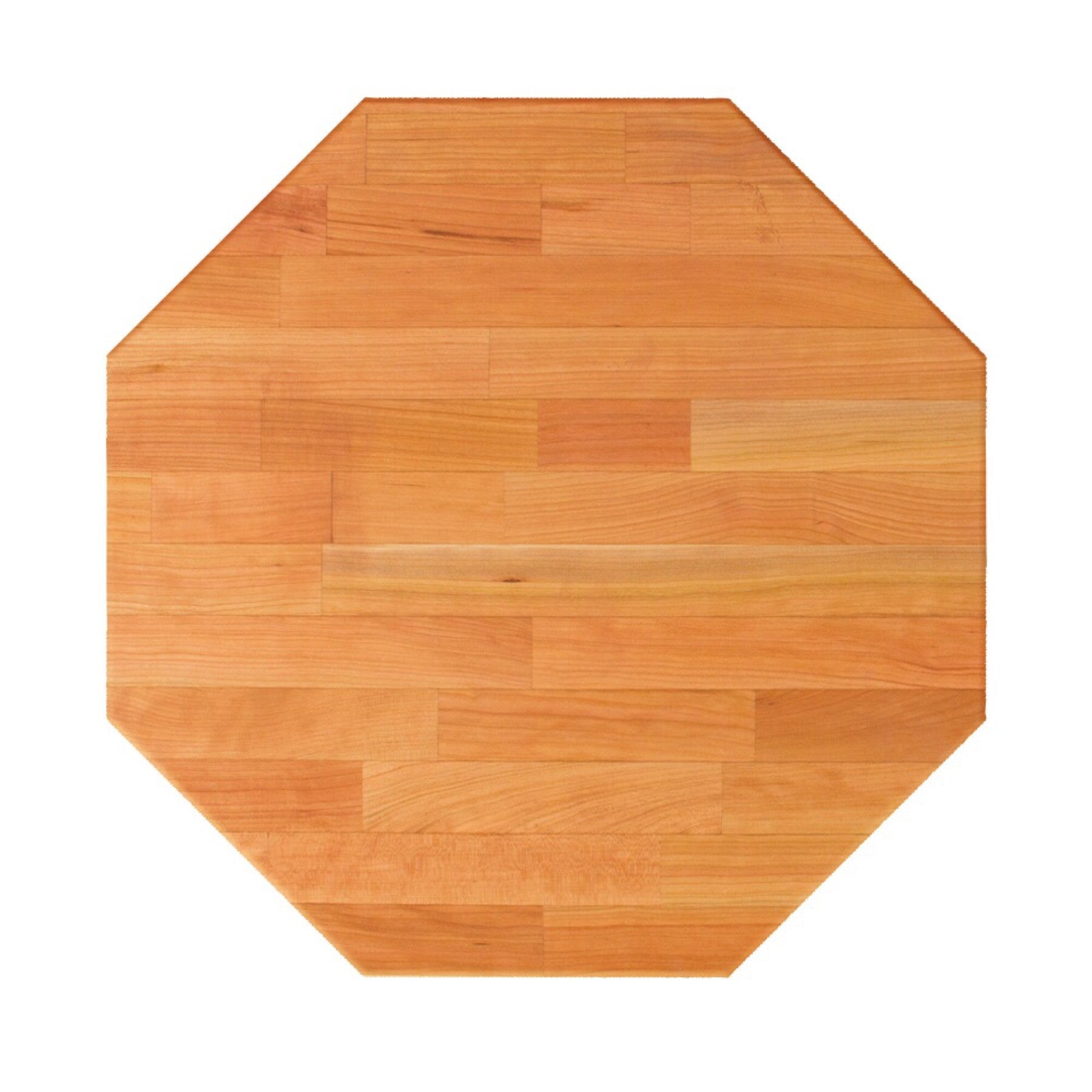 John Boos Octagonal RTC Blended Cherry Butcher Block Table Top