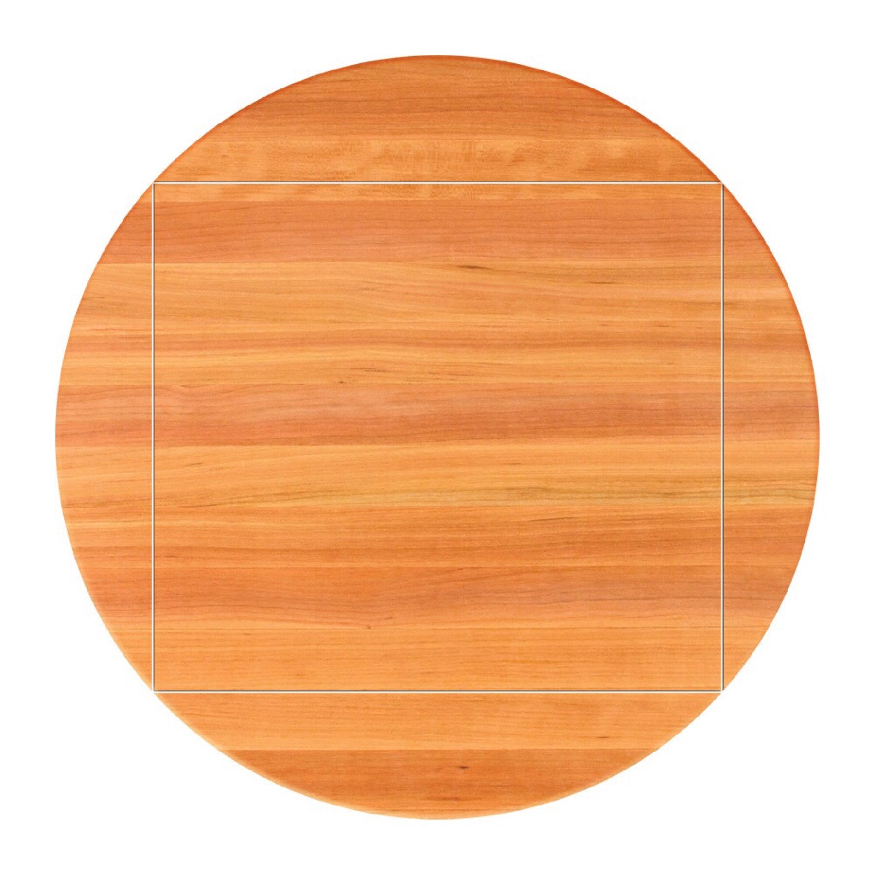 John Boos 4 Corner Drop Leaf RTC Cherry Butcher Block Table Top