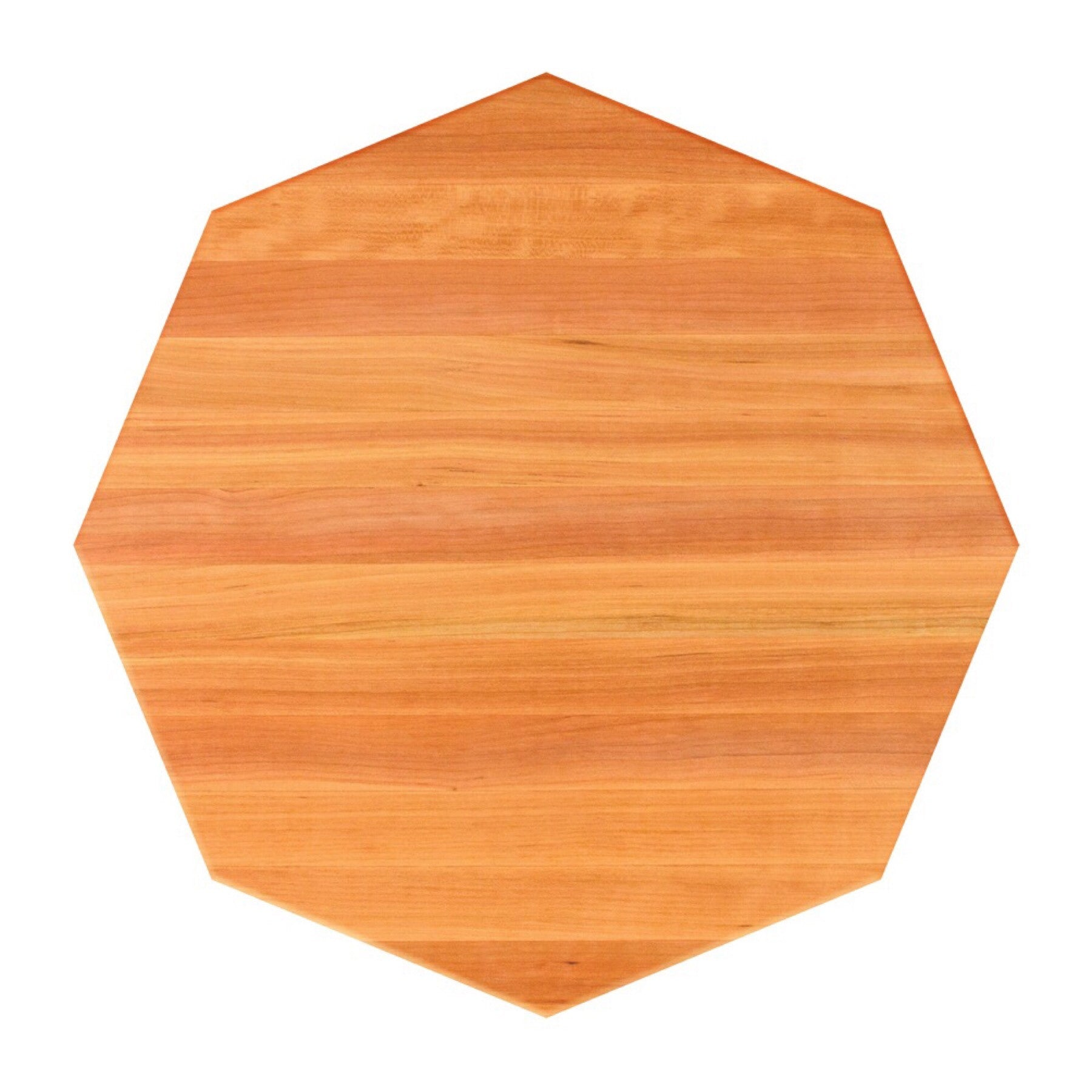 John Boos Octagonal RTO Red Oak Butcher Block Table Top - Stainable
