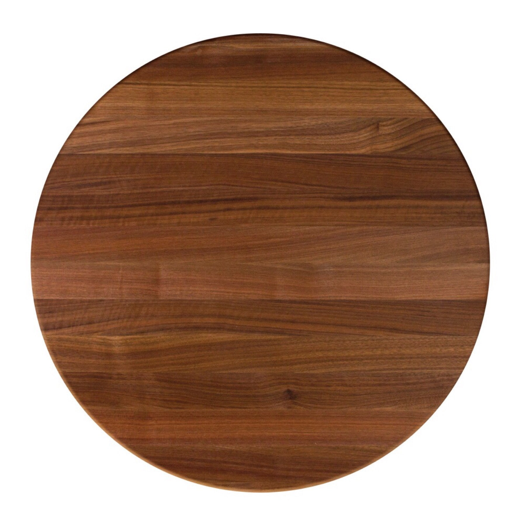 John Boos Round RTW Walnut Butcher Block Table Top