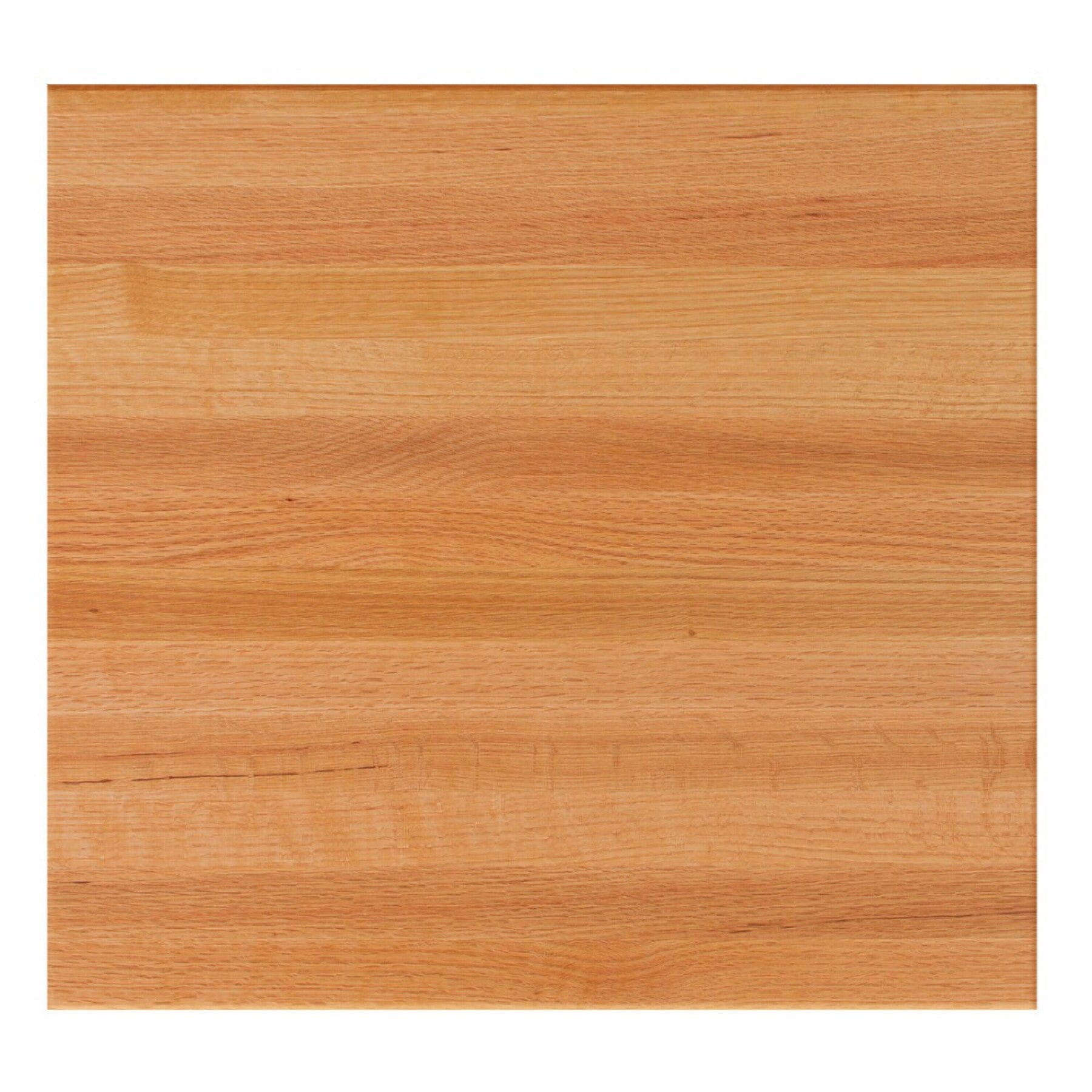John Boos Square RTO Red Oak Butcher Block Table Top - Stainable