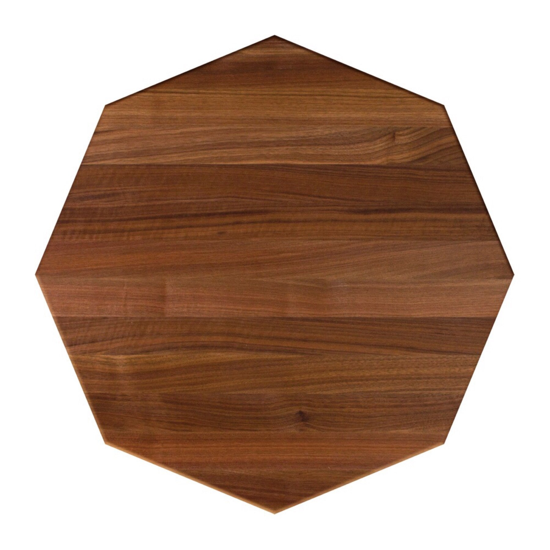 John Boos Octagonal RTW Walnut Butcher Block Table Top