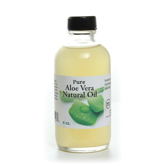 Pure Aloe Vera Natural Oil- 4 oz - S&E Retail Expo