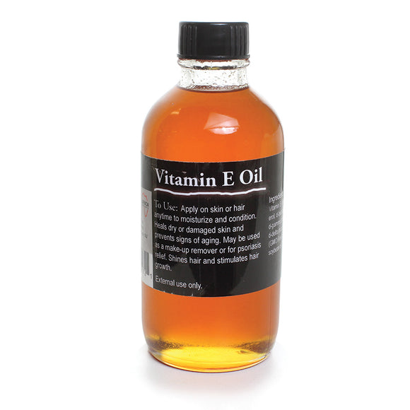 Vitamin E Oil- 4 oz - S&E Retail Expo