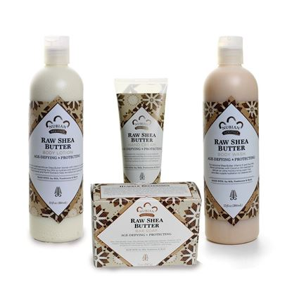 Nubian Heritage Raw Shea Butter Bath & Body Kit - S&E Retail Expo