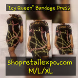 """Icy Queen"" Bodycon Dress - S&E Retail Expo"