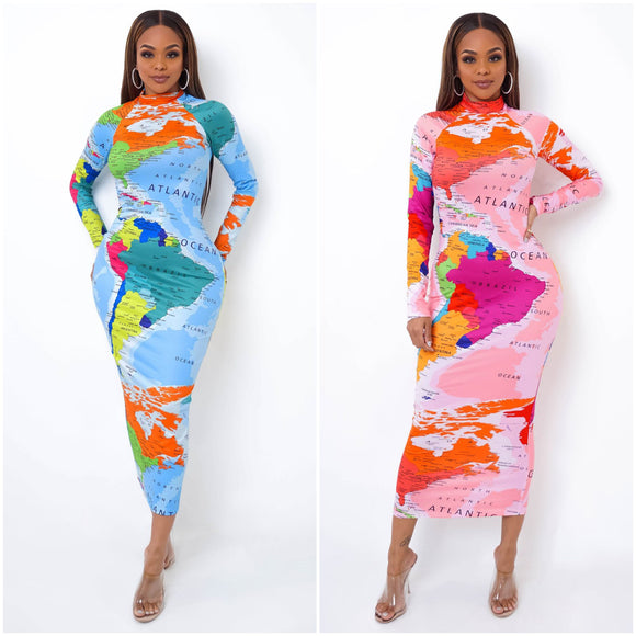 Atlas Globe Trotter Maxi Dress - S&E Retail Expo