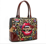 "Nicole Lee USA ""Wild Lips Exotic"" Briefcase Bag - S&E Retail Expo"