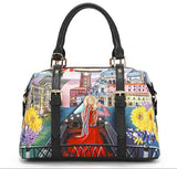 "Nicole Lee USA ""Honeymoon in Venezia"" Boston Bag - S&E Retail Expo"