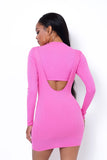 Pink Suspender Dress - S&E Retail Expo