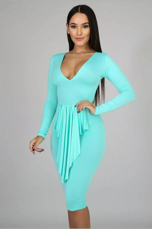 Minted Bodycon Dress