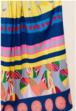 Abstract Print Tiered Maxi Dress - S&E Retail Expo