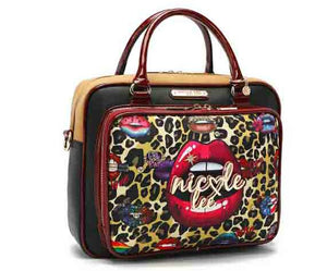 "Nicole Lee USA ""Wild Lips Exotic"" Satchell Bag"