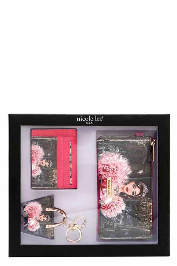 Nicole Lee 3-Piece Accessory Piece Set (4 Choices) - S&E Retail Expo