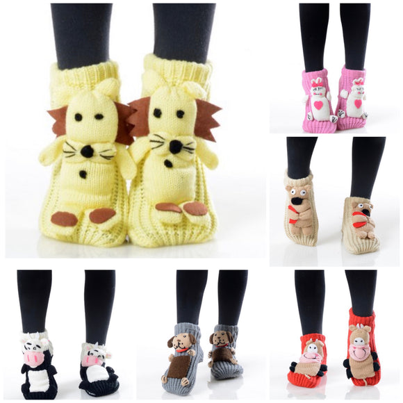 Kids 3D Slipper Socks