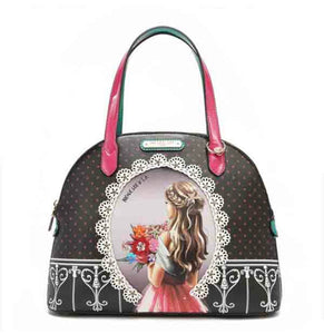 "Nicole Lee ""Waiting for You"" Dome Bag"