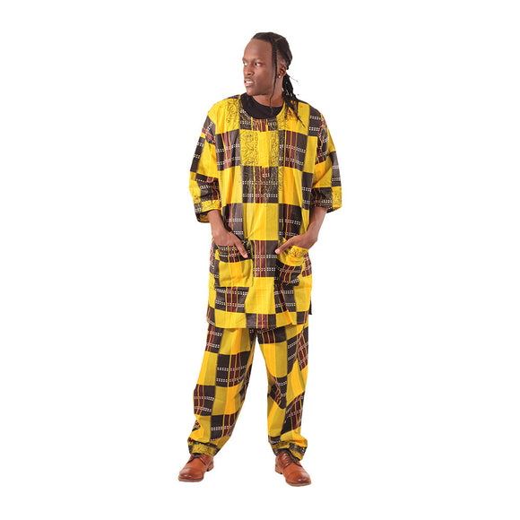 Men's Kente Pants Set
