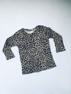LEOPARD long sleeved T-shirt, unisex