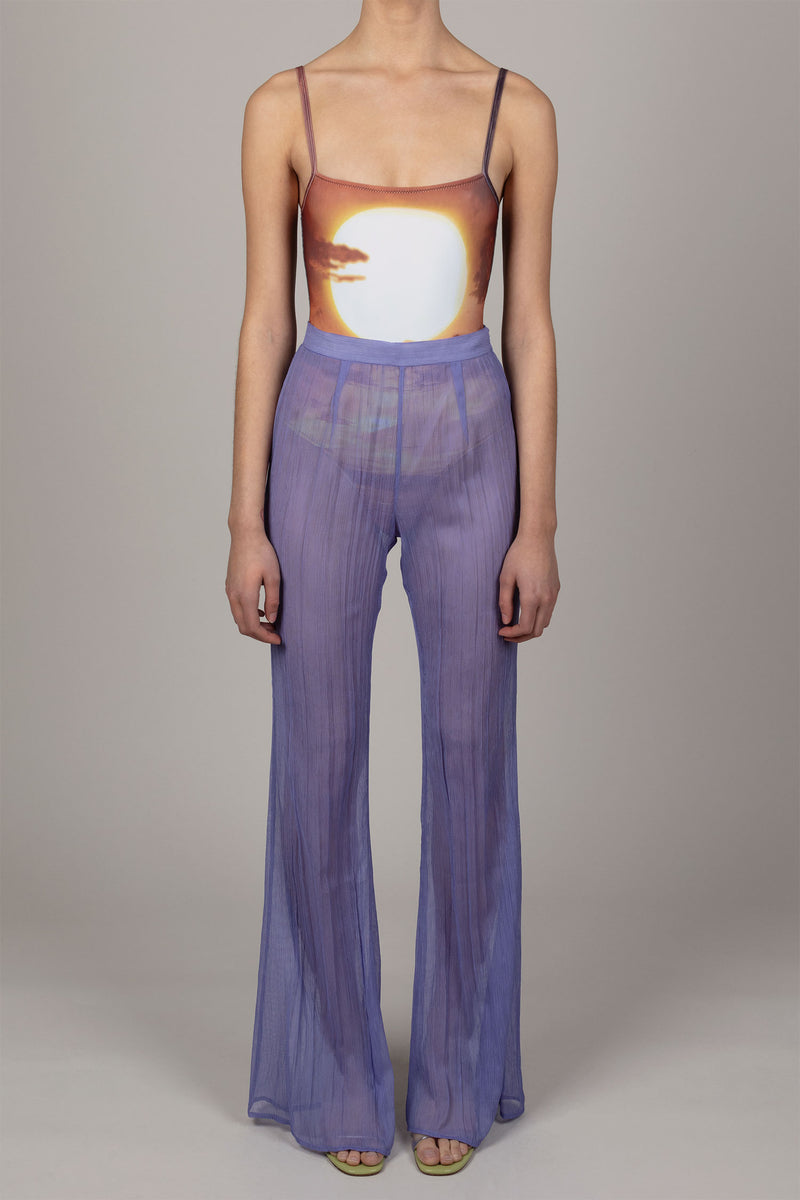 Iris Fitted Flared Pants