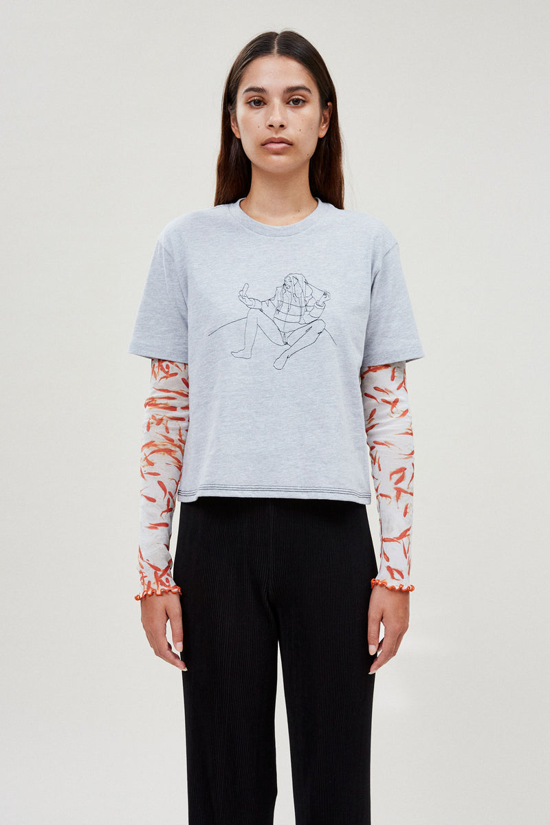 Embroidered Selfie Tee