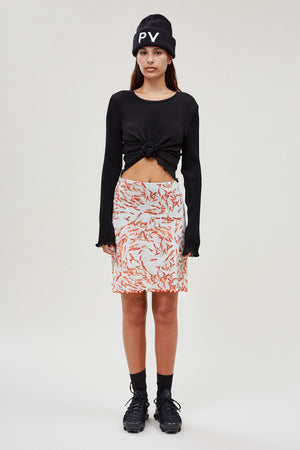 A-line Skirt With Briefs