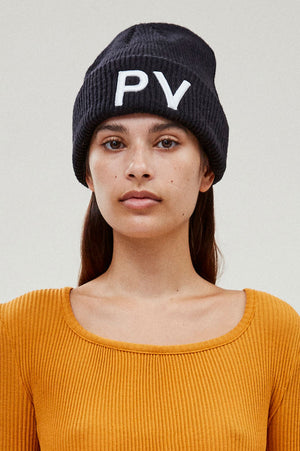 Embroidered PV Beanie