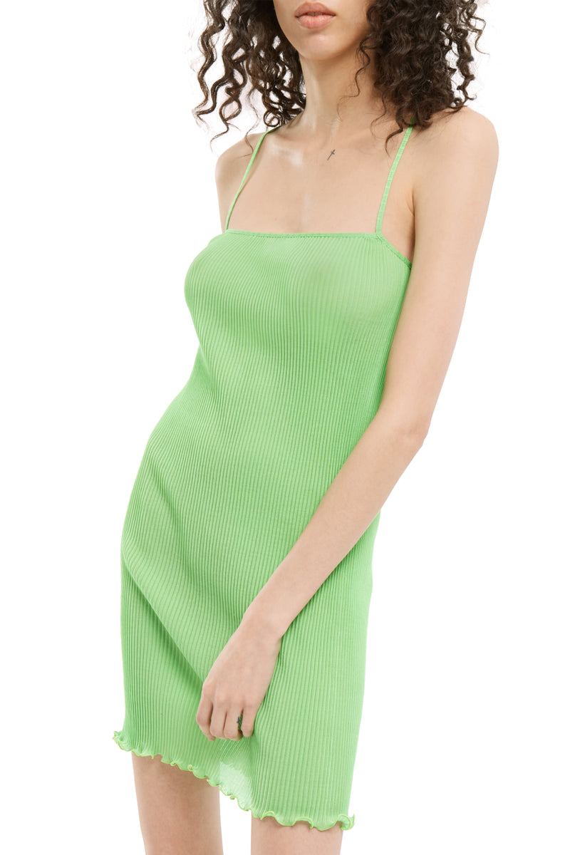 Apple Green Mini Cami Dress