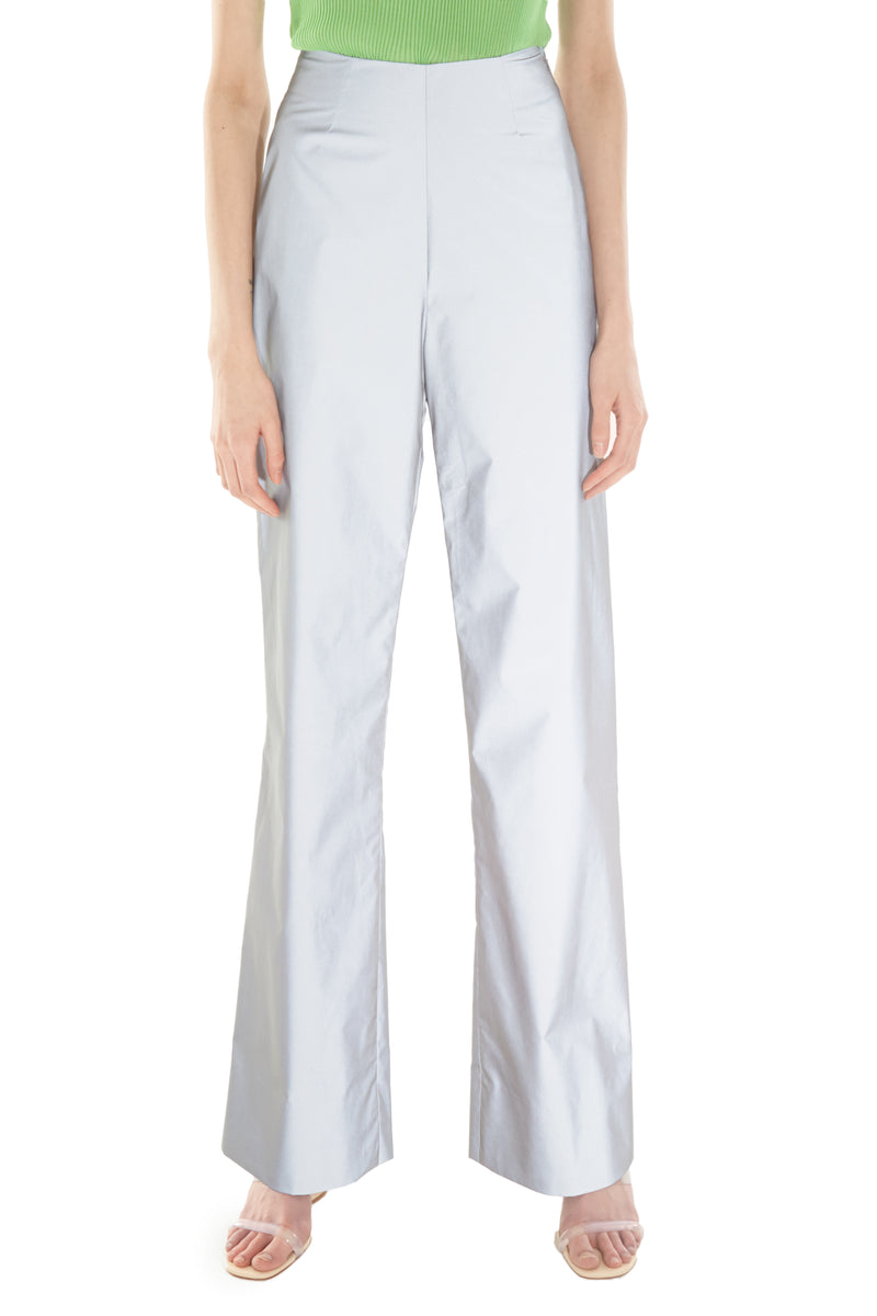High Waisted Reflective Suit Pants