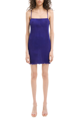 Purple Mini Cami Dress