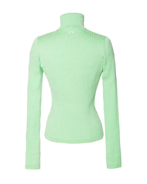 Turtle Neck PV Slim Sweater