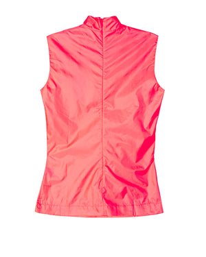 Sleeveless Rainwear Top