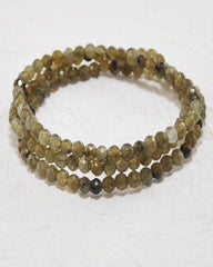 Labradorite Mini Gemstone Energy Bracelet