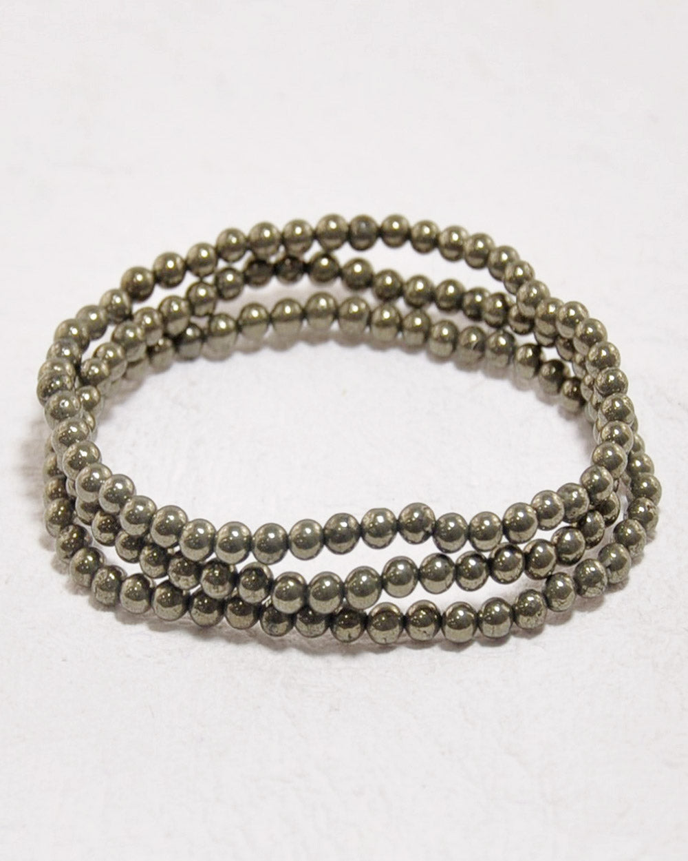 Pyrite Mini Gemstone Energy Bracelet