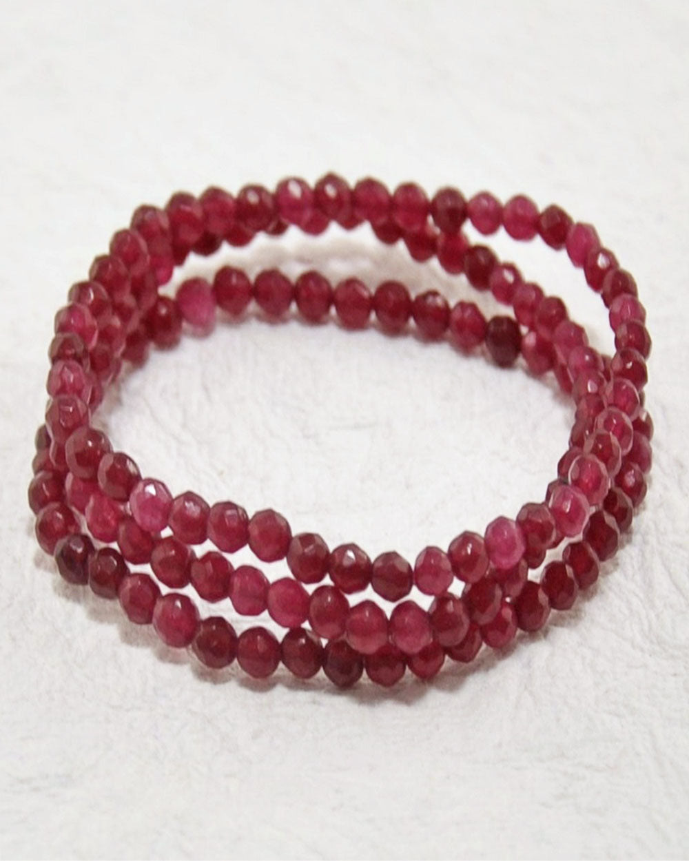 Red Onyx Mini Gemstone Energy Bracelet