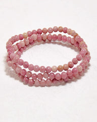 Rhodonite Mini Gemstone Energy Bracelet