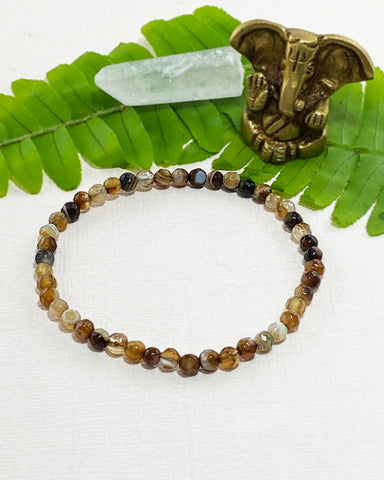 Agate Mini Gemstone Energy Bracelet