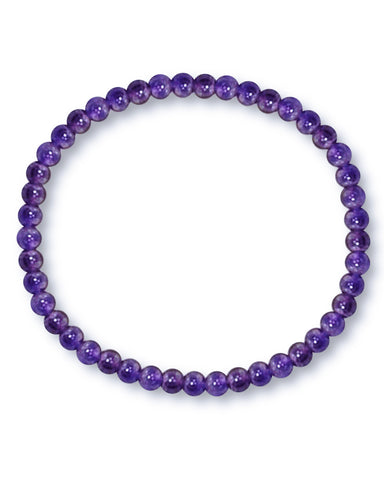 Amethyst Mini Gemstone Energy Bracelet