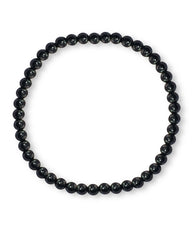 Black Spinel Mini Gemstone Energy Bracelet