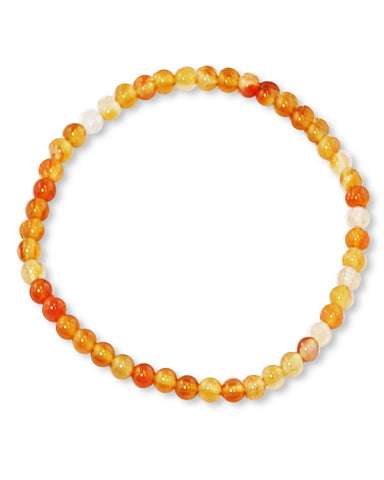 Carnelian Mini Gemstone Energy Bracelet