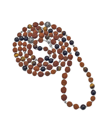 Core Strength 108 Rudraksha Power Beads Mala