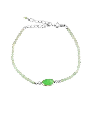 Empowered Green Aventurine Bracelet - Good Luck