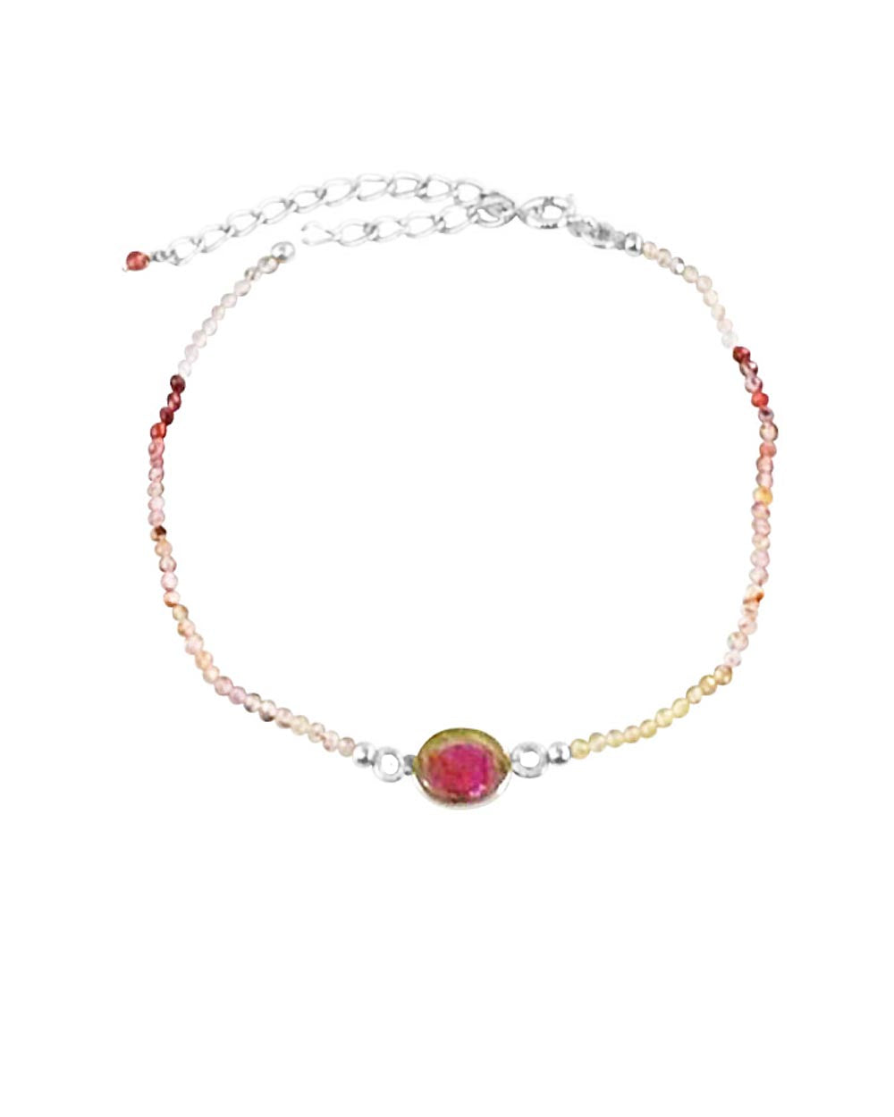 Empowered Watermelon Tourmaline Bracelet - Abundance