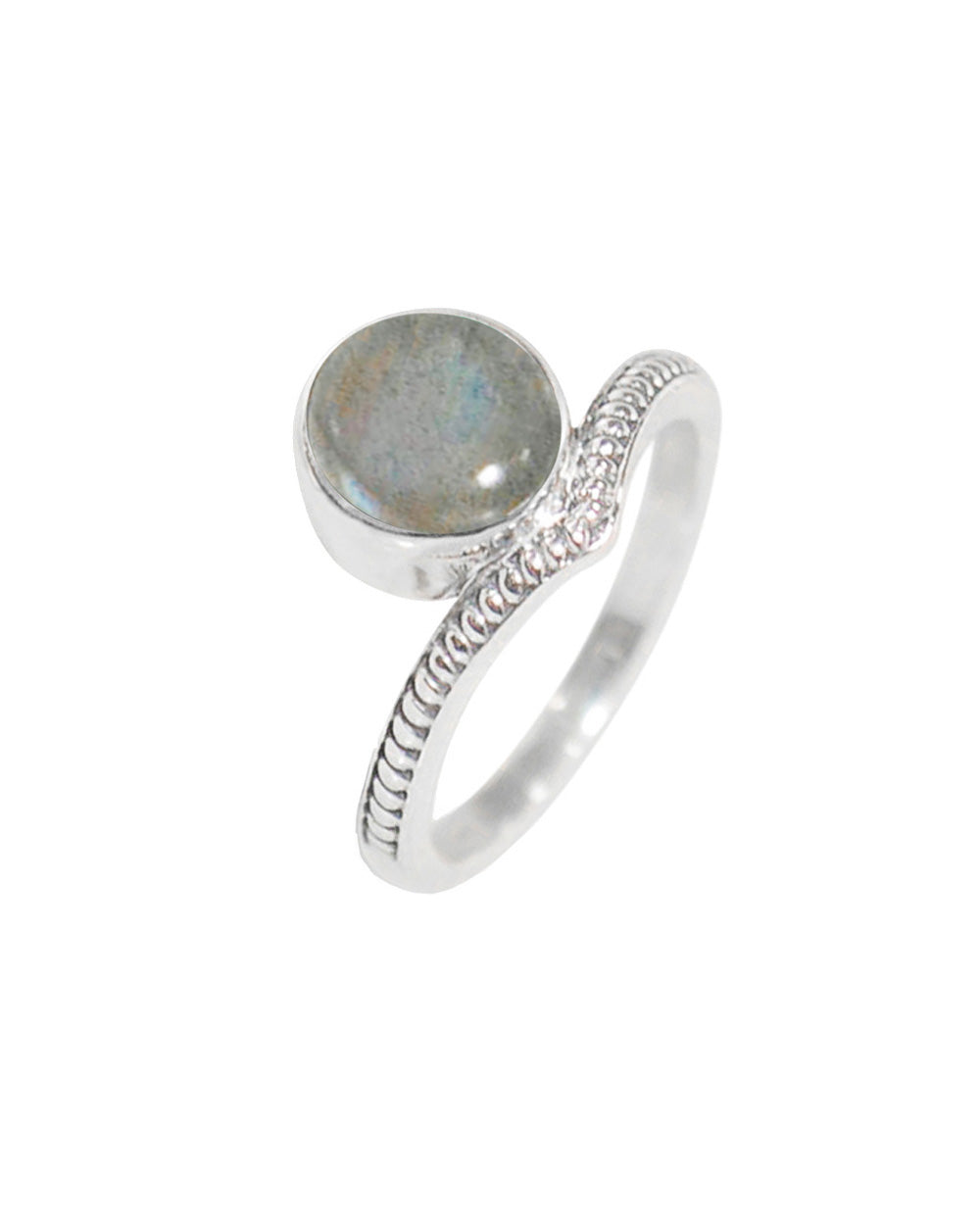 Enlightened Sterling Silver Ring - Labradorite