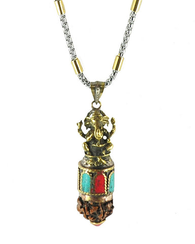 Ganesha Success Necklace for Men